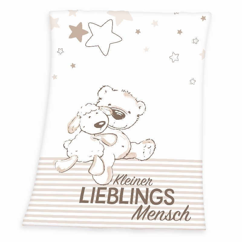 HERDING Micropolar fleece deka Miláček  Polyester, 75/100 cm
