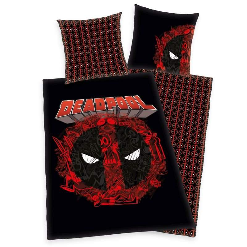 HERDING Povlečení Marvel Deadpool  Bavlna, 140/200, 70/90 cm