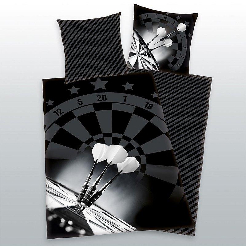 HERDING Povlečení Šipky micro  Polyester - mikrovlákno, 140/200, 70/90 cm