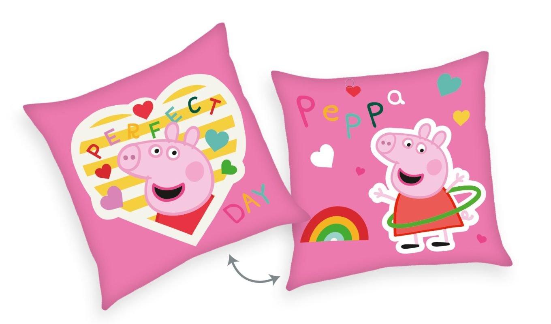 HERDING Polštářek Peppa Pig Perfect  Polyester, 40/40 cm