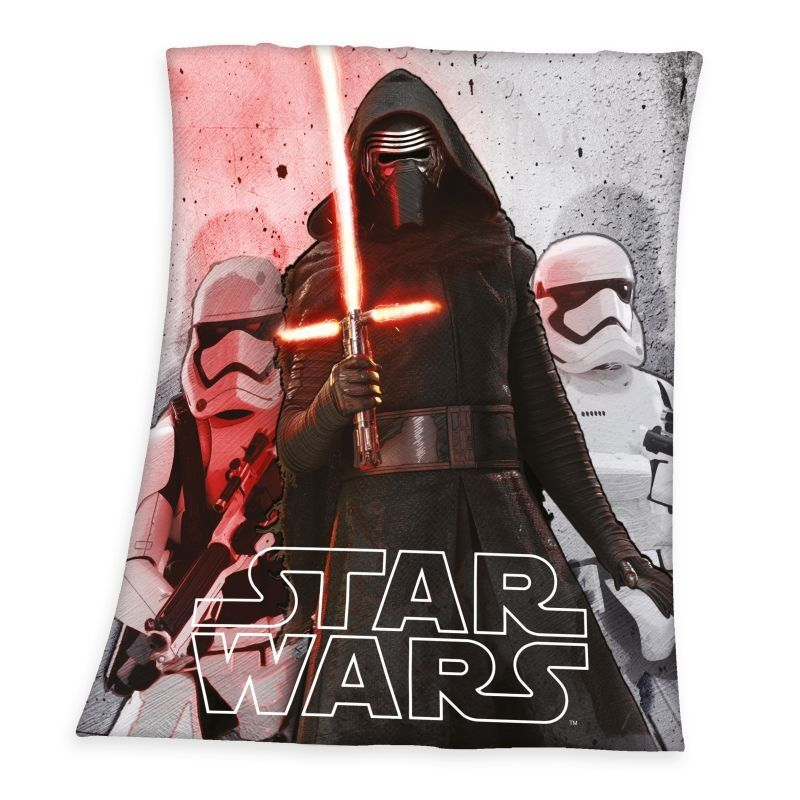 HERDING Fleece deka Star Wars  Polyester, 130/160 cm