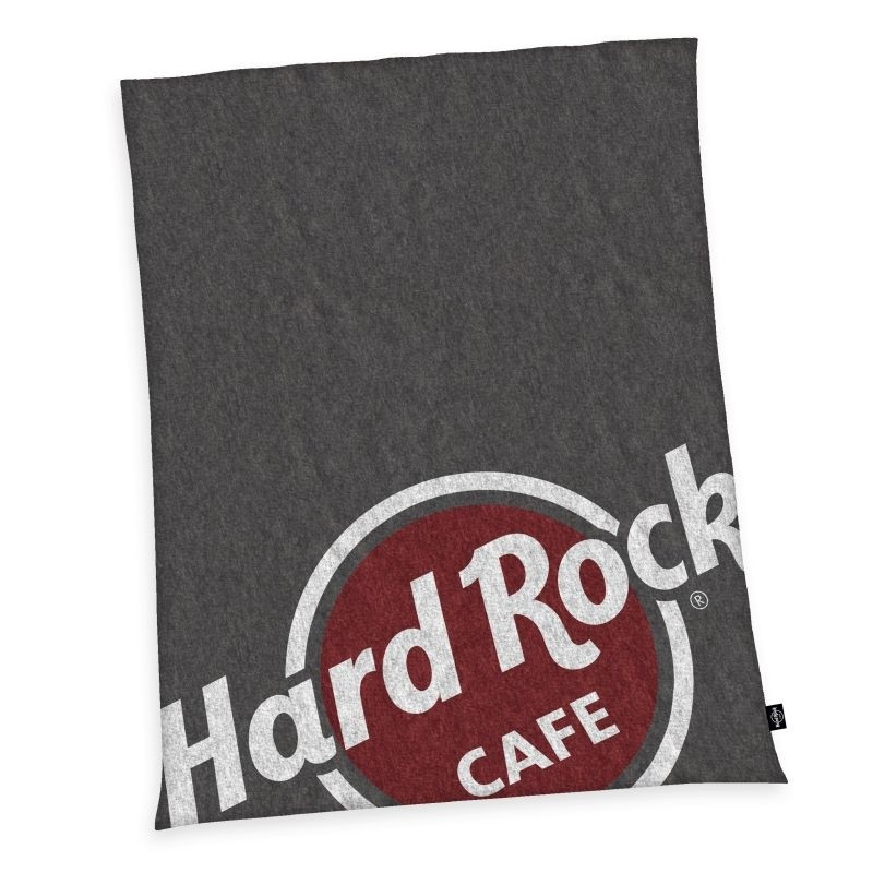 HERDING Micropolar fleece deka Hard Rock Cafe  Polyester, 150/200 cm