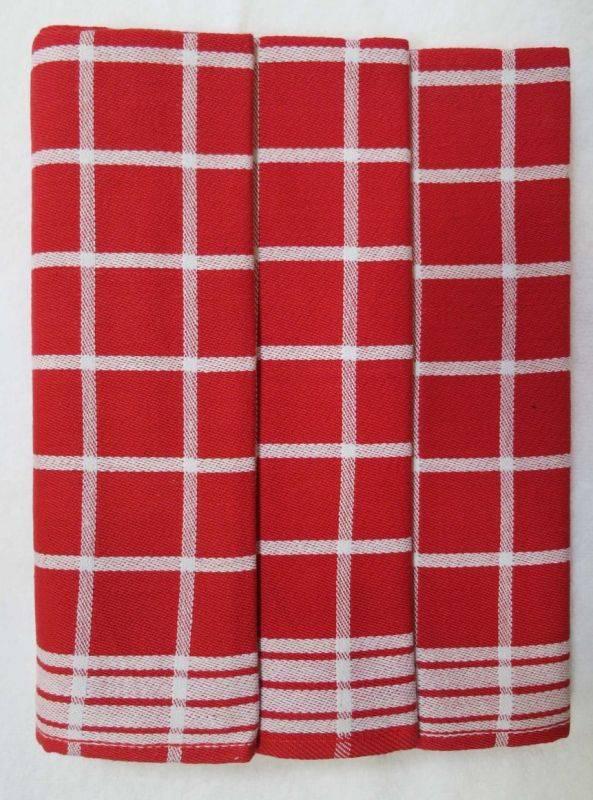 Polášek Kuchyňské utěrky z Egyptské bavlny 3 ks vzor č.1 Bavlna