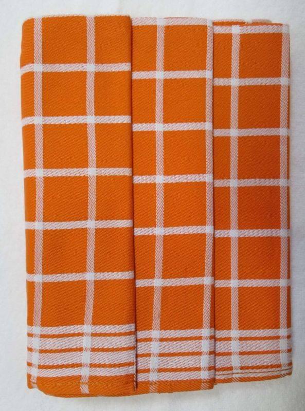 Polášek Kuchyňské utěrky z Egyptské bavlny 3 ks vzor č.3  Bavlna