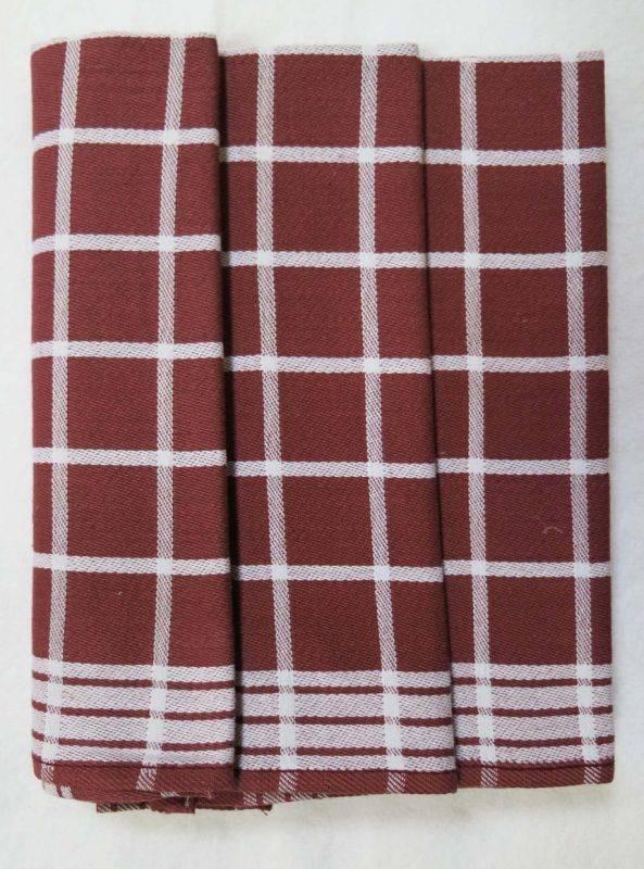Polášek Kuchyňské utěrky z Egyptské bavlny 3 ks vzor č.4 Bavlna