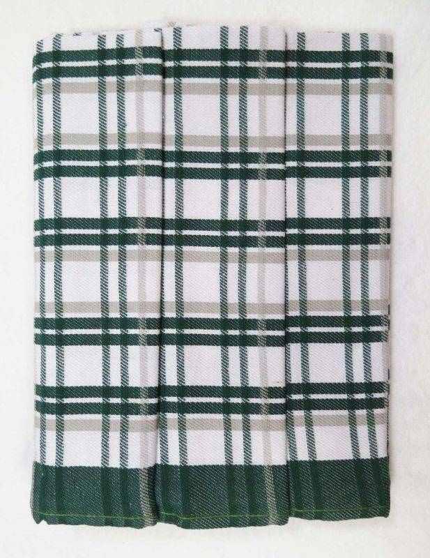 Polášek Kuchyňské utěrky z Egyptské bavlny 3 ks vzor č.8 Bavlna