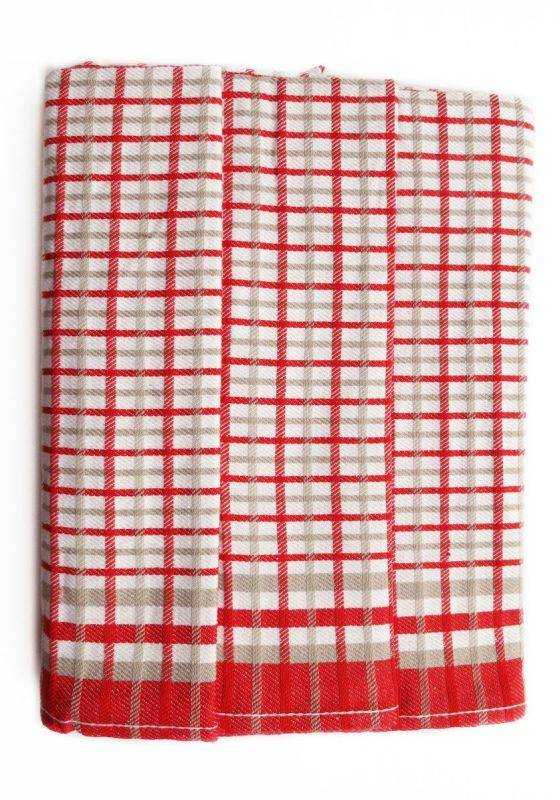 Polášek Kuchyňské utěrky z Egyptské bavlny 3 ks vzor č.26 Bavlna