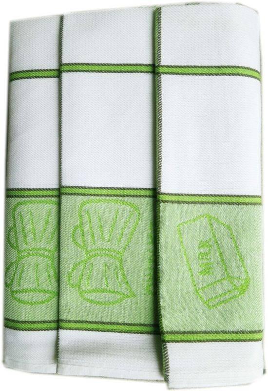 Polášek Kuchyňské utěrky z Egyptské bavlny 3 ks vzor č.32 Bavlna