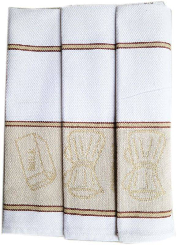 Polášek Kuchyňské utěrky z Egyptské bavlny 3 ks vzor č.33 Bavlna