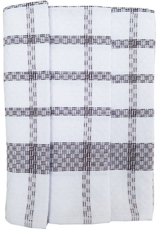Polášek Kuchyňské utěrky z Egyptské bavlny 3 ks vzor č.54 Bavlna