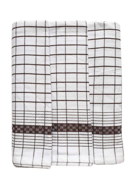 Polášek Kuchyňské utěrky z Egyptské bavlny 3 ks vzor č.88 Bavlna