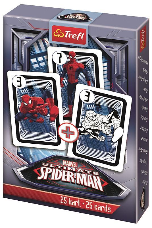 TREFL Černý Petr Spiderman papír, 9x6x1 cm