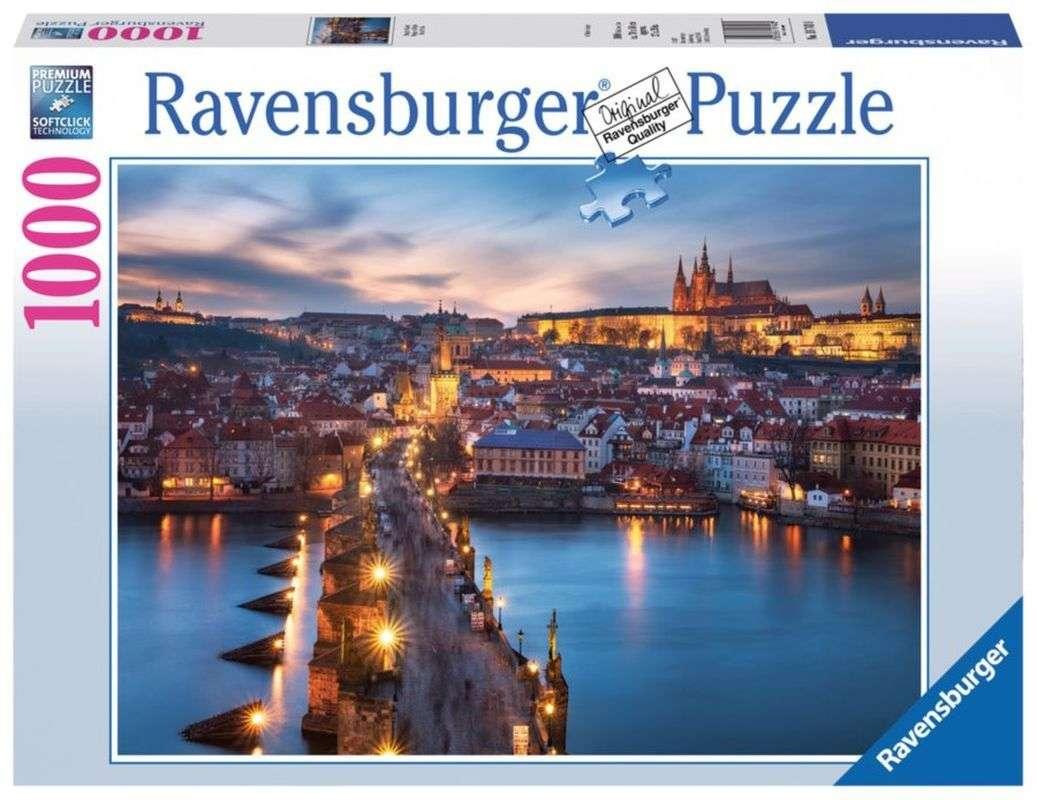Puzzle Noční Praha 1000 dílků