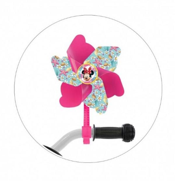Větrník na dětské kolo Minnie Mouse - NOVINKY