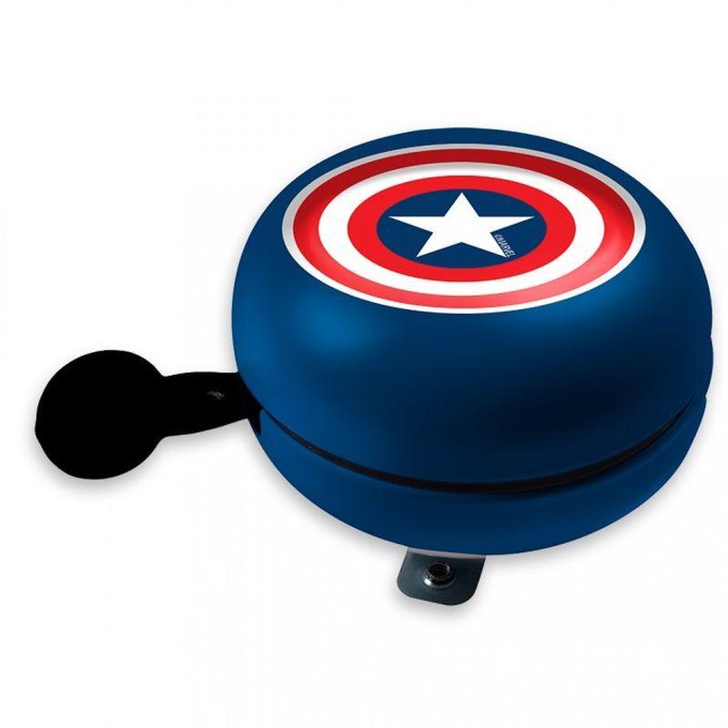 SEVEN Kovový retro zvonek na kolo Avengers Kov, Průměr 9 cm, výška 5,5 cm