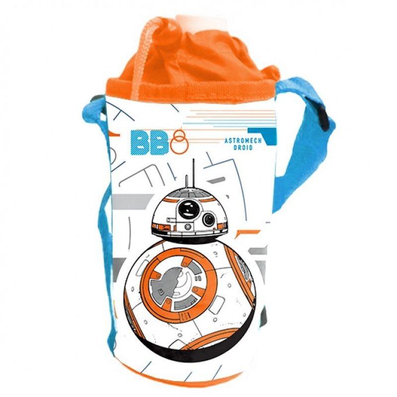 SEVEN Držák na láhev Star Wars BB- Polyester, plast, kov, 8 cm