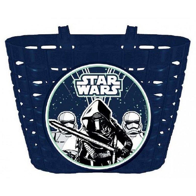SEVEN Košík na kolo Star Wars Stormtrooper Plast, 20 x 13 x 13 cm