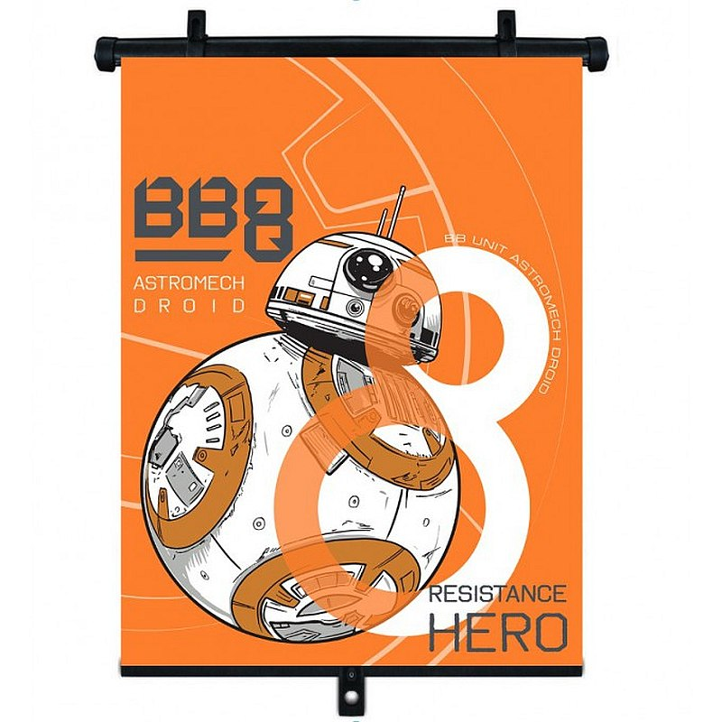 Sluneční clona Roletka Star Wars BB-8 1ks