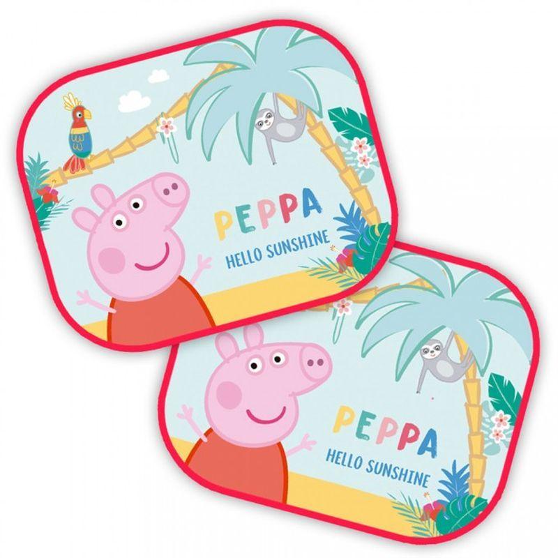 SEVEN Sluneční clony Peppa Pig  Polyester, 2ks