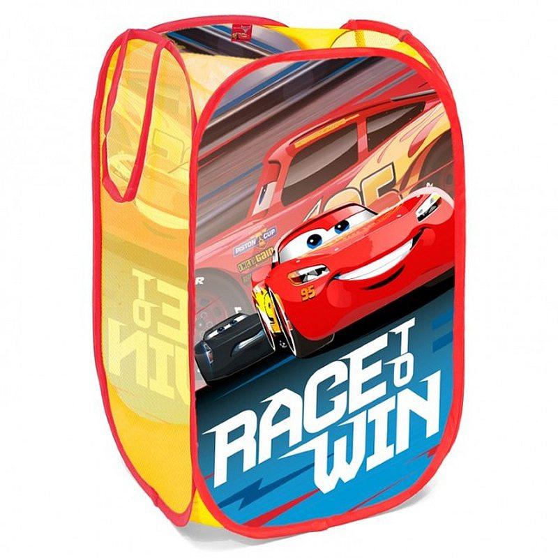 SEVEN Koš na hračky Cars Polyester, 36x36x58 cm