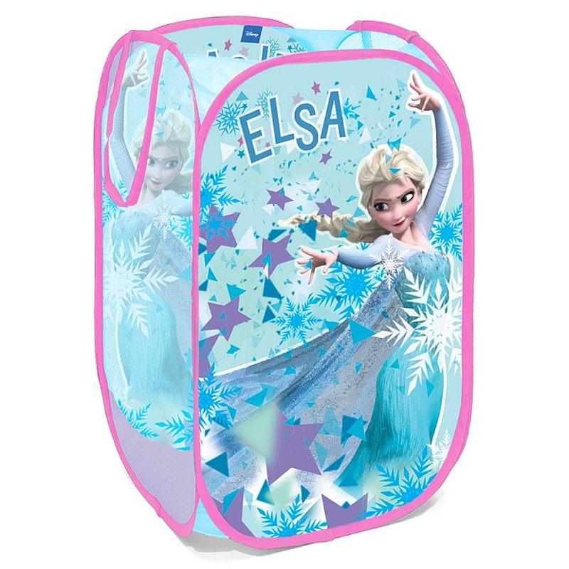 SEVEN Koš na hračky Ledové Království Elsa Polyester, 36x36x58 cm