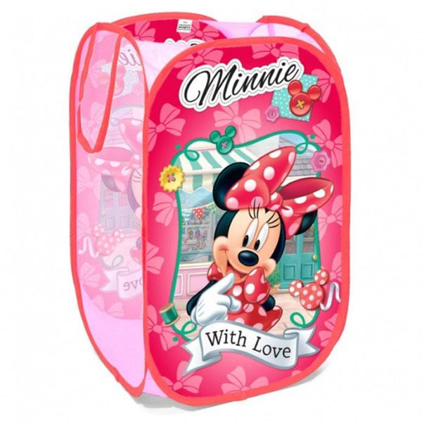 Koš na hračky Minnie Mouse - vaky na hračky
