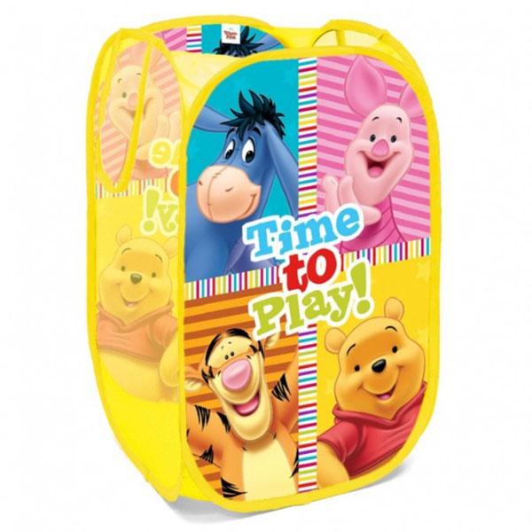 Koš na hračky Medvídek Pů - vaky na hračky