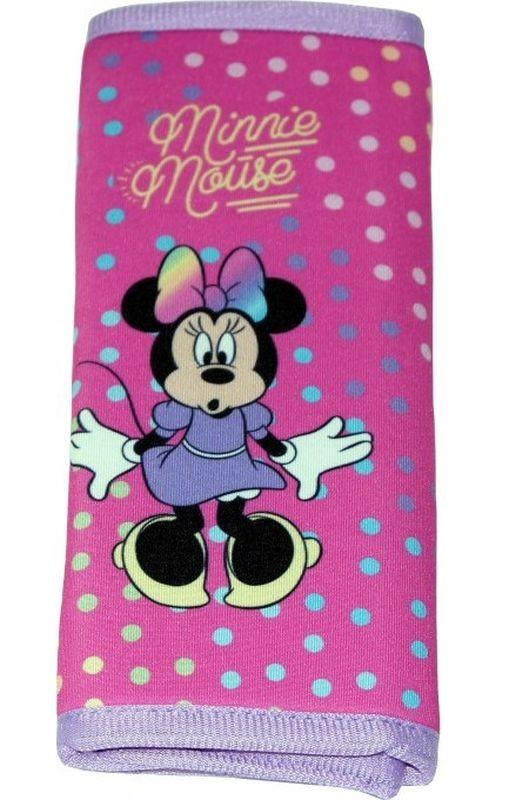 SEVEN Polstrování bezpečnostního pásu Minnie puntíky polyester, 1x 9x18 cm