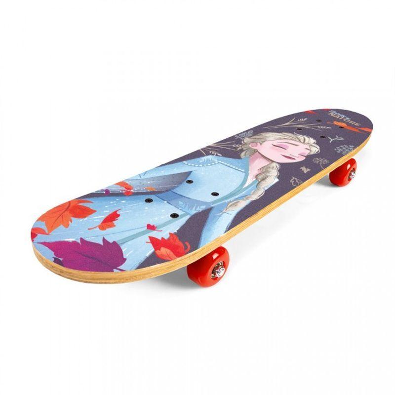 SEVEN Skateboard dřevěný Ledové Království 2  9 vrstvý čínský javor, 1x 61x15x8 cm