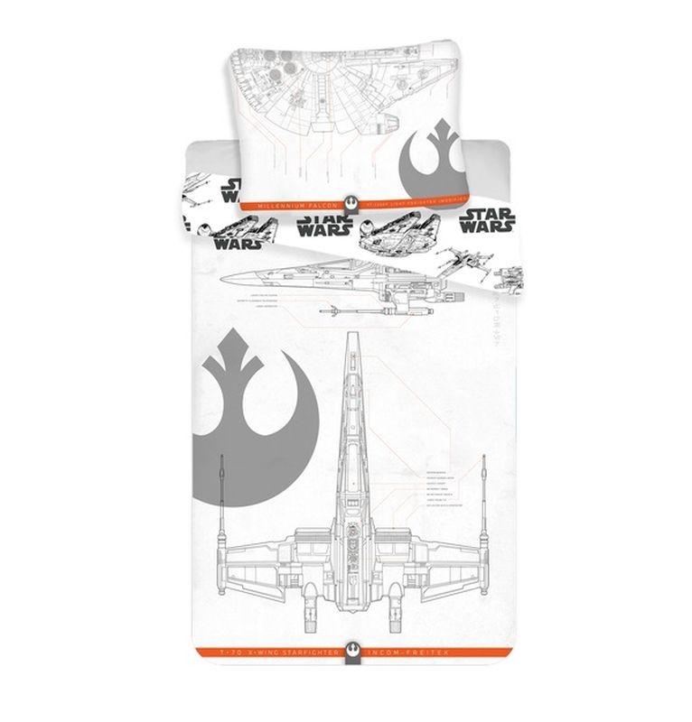 Povlečení Star Wars 9 vehicles 140/200, 70/90