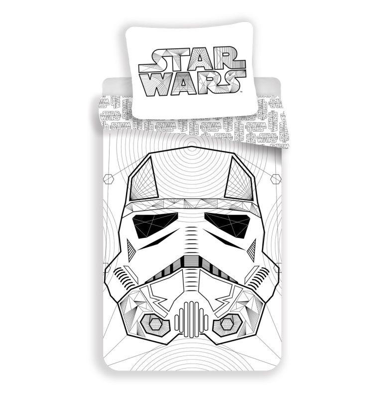Povlečení Star Wars white 140/200, 70/90
