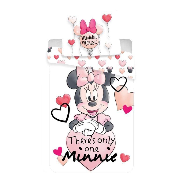 Povlečení Minnie thres only one 140/200, 70/90