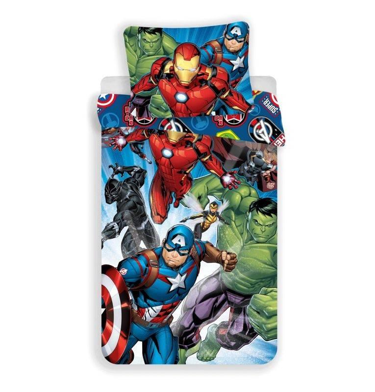 Povlečení Avengers Brands 140/200, 70/90