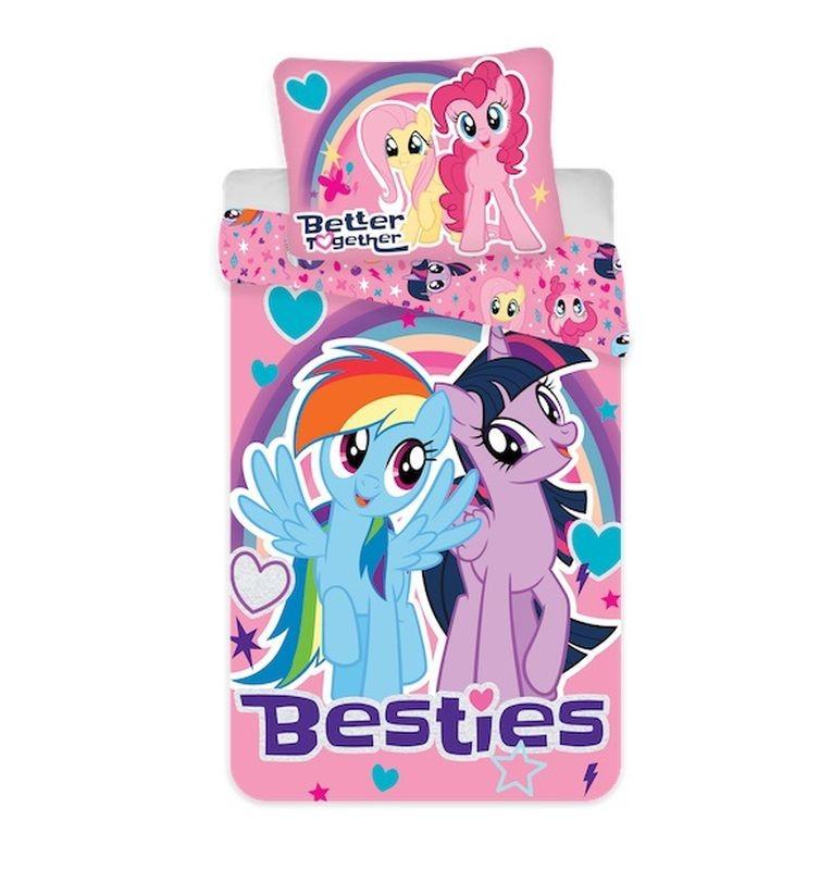 JERRY FABRICS Povlečení My Little Pony Besties  Bavlna, 140/200, 70/90 cm