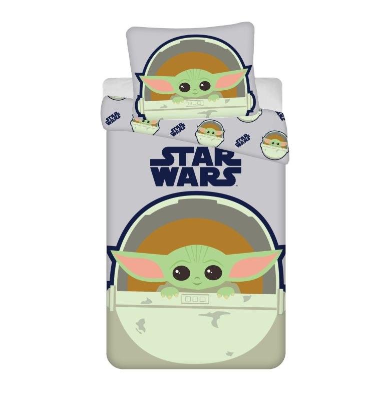 JERRY FABRICS Povlečení Star Wars The Child  Bavlna, 140/200, 70/90 cm