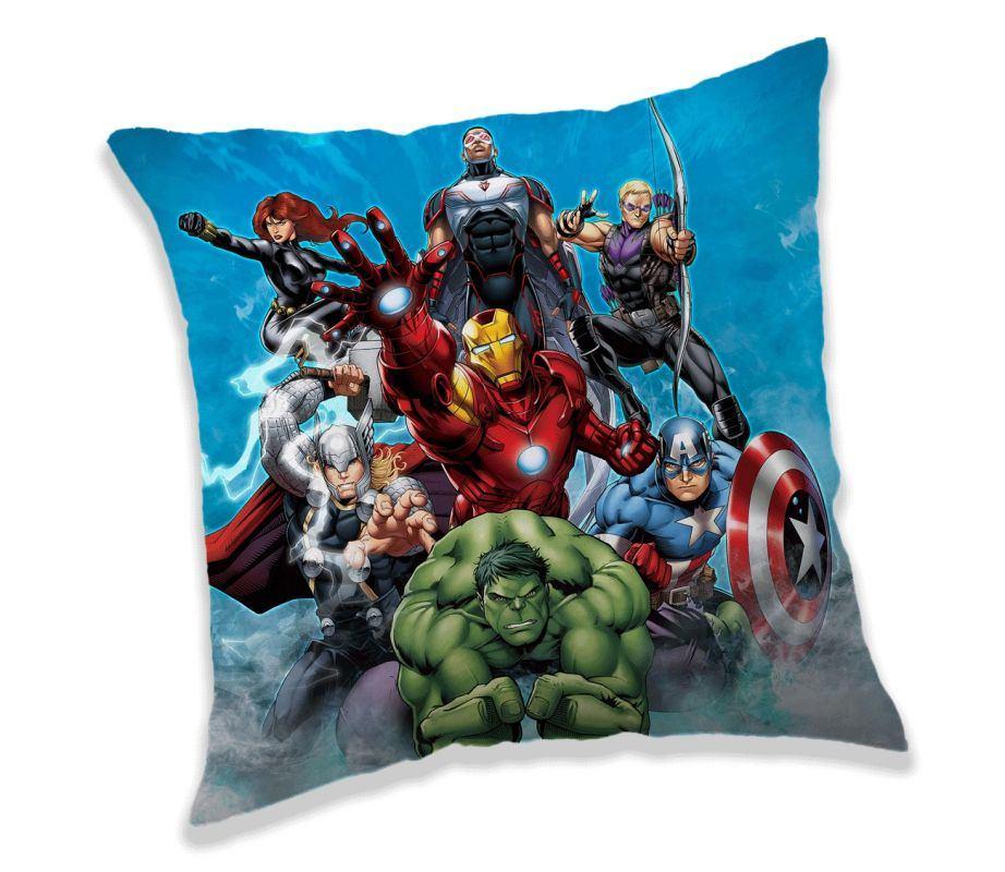 JERRY FABRICS Polštářek Avengers 02 Polyester, 40/40 cm