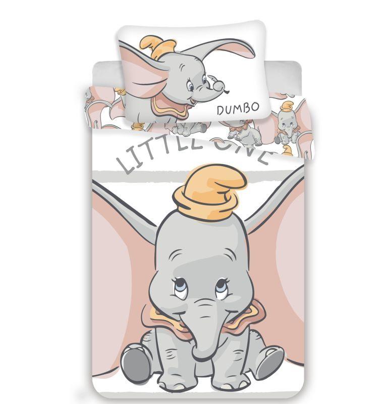 Povlečení do postýlky Dumbo stripe baby 100/135, 40/60