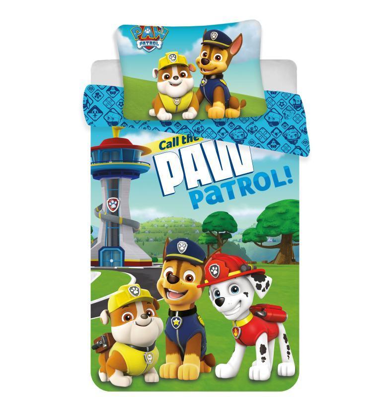 Povlečení do postýlky Paw Patrol 121 baby 100/135, 40/60