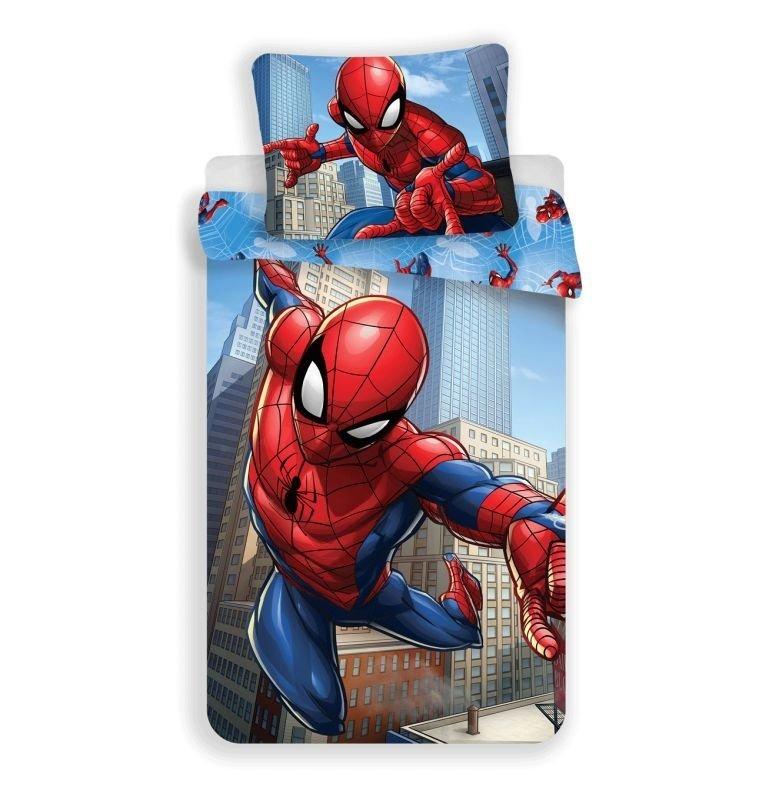 Povlečení Spiderman blue micro 140/200, 70/90