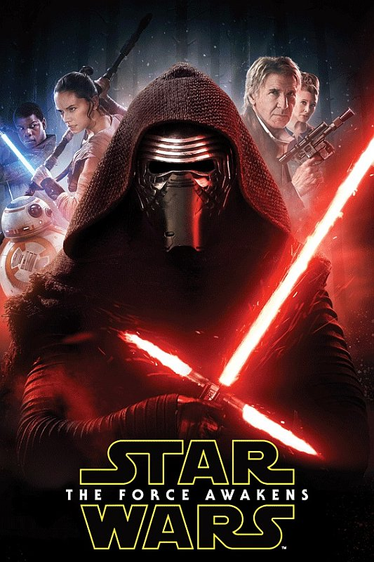 Fleece deka Star Wars The force Awakens 100/150