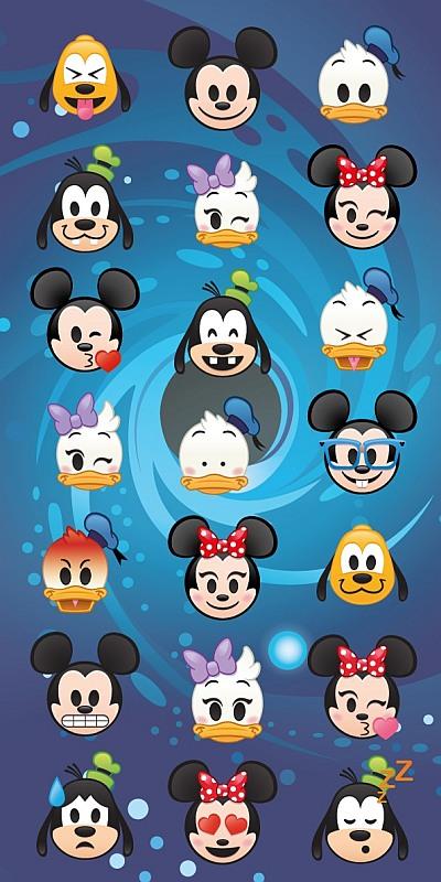 Osuška Disney Emoji 70/140