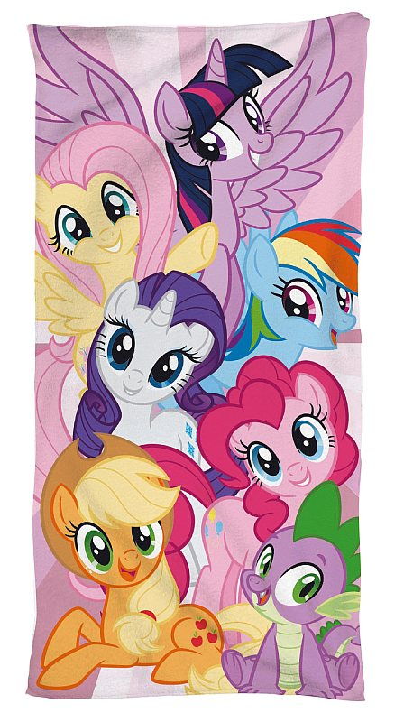 JERRY FABRICS Osuška My Little Pony 0 Bavlna - Froté, 95 70/140 cm