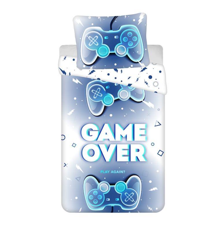 JERRY FABRICS Povlečení Game Over  Bavlna, 140/200, 70/90 cm