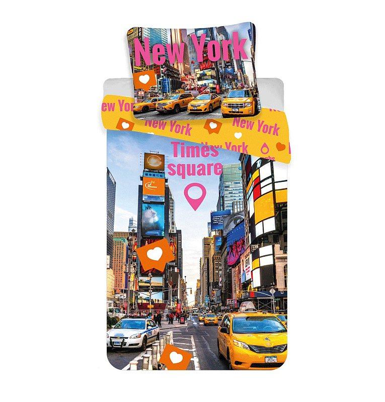 Povlečení Times Square 140/200, 70/90