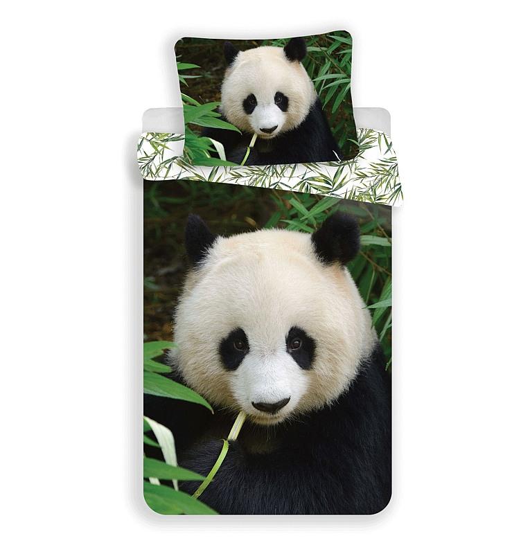 JERRY FABRICS Povlečení Panda  Bavlna, 140/200, 70/90 cm