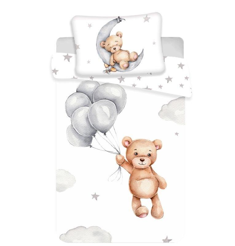 JERRY FABRICS Povlečení do postýlky Medvídek baby  Bavlna, 100/135, 40/60 cm