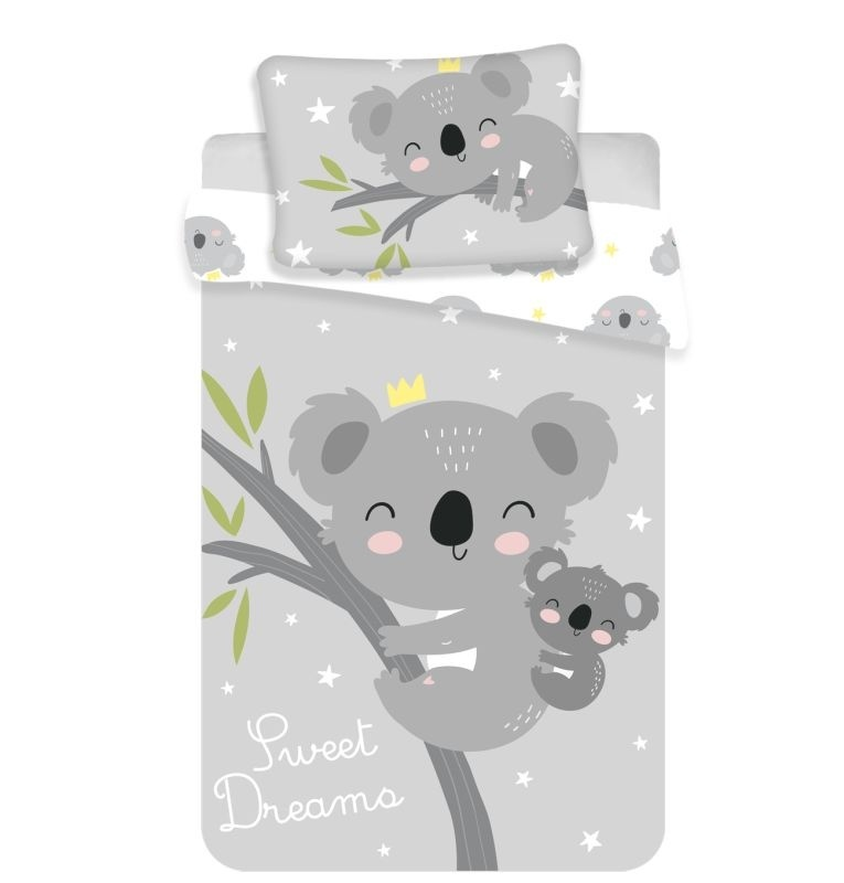 JERRY FABRICS Povlečení do postýlky Koala sweet dreams baby  Bavlna, 100/135, 40/60 cm