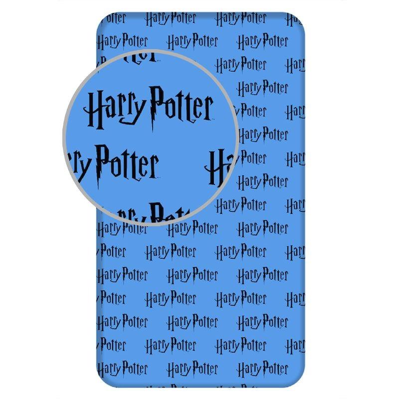 JERRY FABRICS Prostěradlo Harry Potter HP111 Bavlna, 90/200 cm