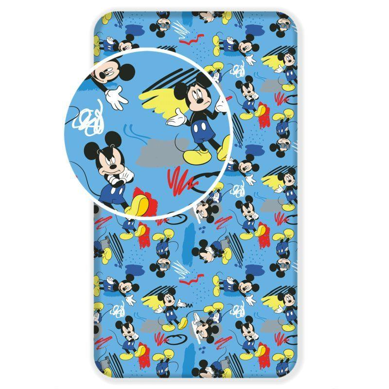 Prostěradlo Mickey 043 hey 90/200