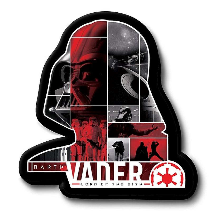 Tvarovaný polštářek Darth Vader 30 cm